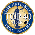 Top 40 trial lawyer under 40