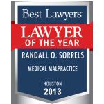 Randy Medical Malpractice best lawyer 2013-150