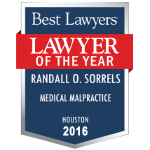 Randy Medical Malpractice best lawyer 2016-150