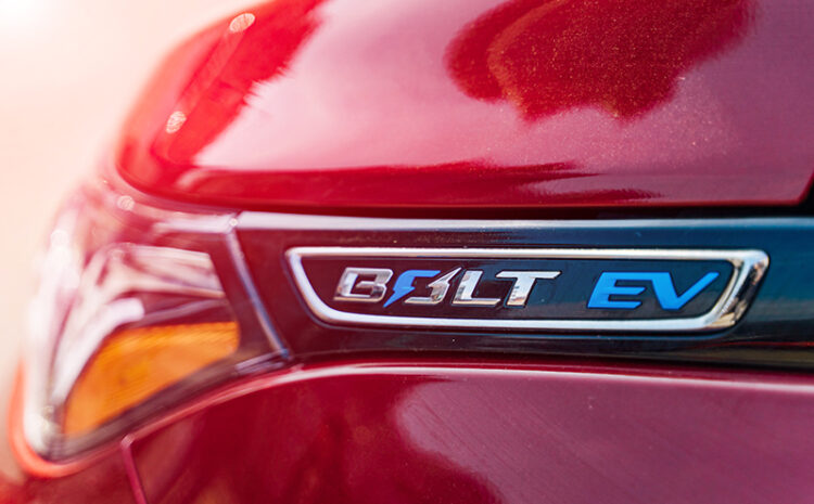 Recall on all Chevy Bolt Vehicles Due to Battery Problems
